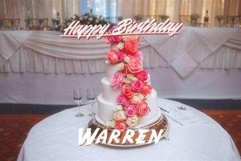 Birthday Images for Warren