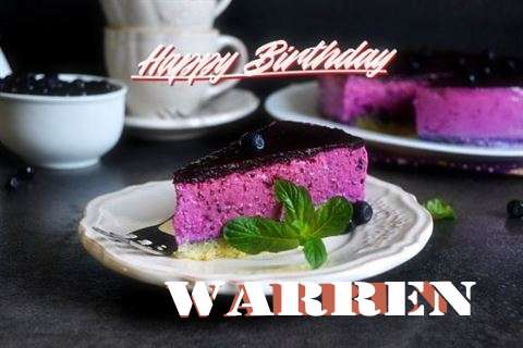 Warren Birthday Celebration