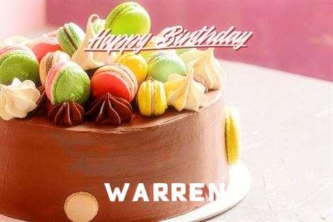 Happy Birthday Cake for Warren