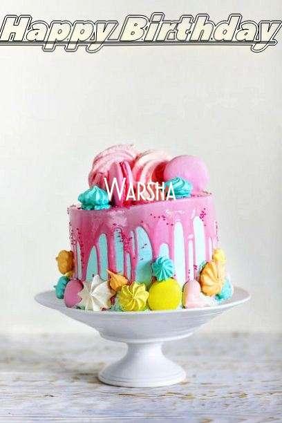 Warsha Birthday Celebration