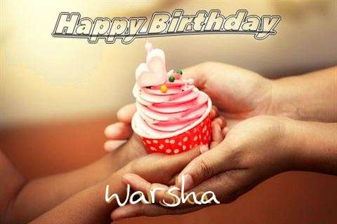 Happy Birthday to You Warsha