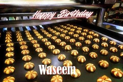 Happy Birthday Cake for Waseem