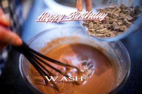 Happy Birthday Wash Cake Image