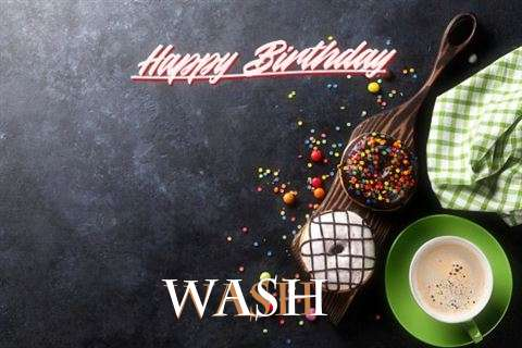 Happy Birthday Wishes for Wash