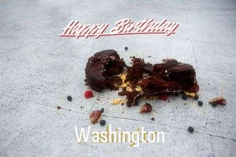 Happy Birthday Washington