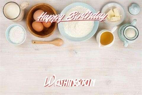 Birthday Wishes with Images of Washington