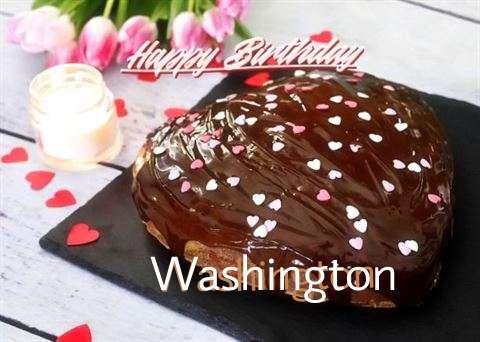 Happy Birthday Cake for Washington