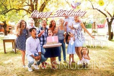 Happy Birthday Cake for Wasimuddin