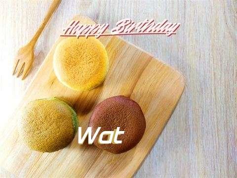 Happy Birthday Wat