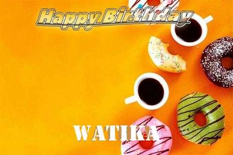 Happy Birthday Watika