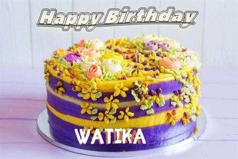 Birthday Images for Watika
