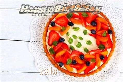 Watika Birthday Celebration