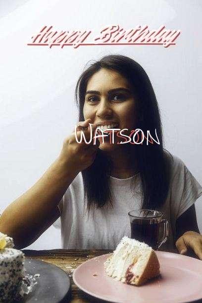 Happy Birthday to You Watson