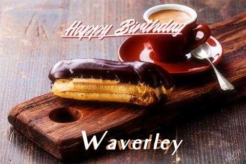 Happy Birthday Waverley Cake Image