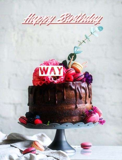 Happy Birthday Way