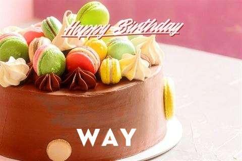 Happy Birthday Cake for Way