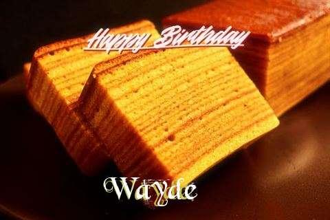 Wayde Birthday Celebration