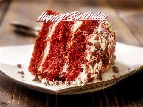 Happy Birthday to You Wayland