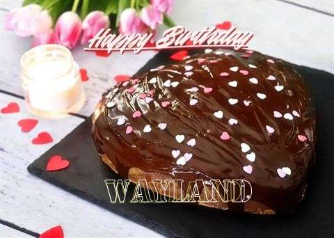 Happy Birthday Cake for Wayland