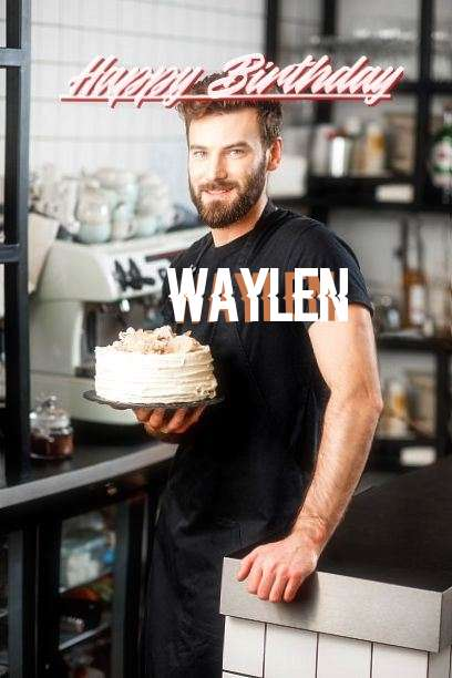 Happy Birthday Waylen