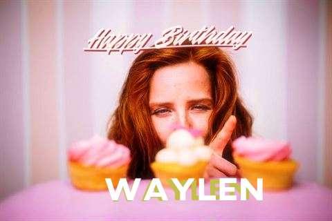 Happy Birthday Wishes for Waylen