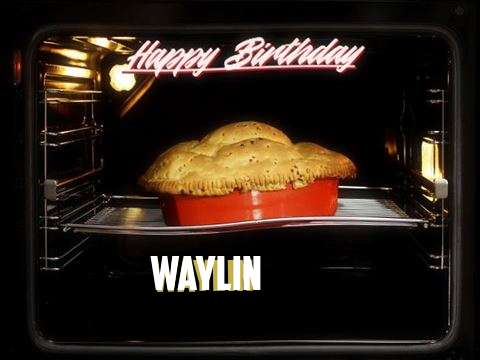 Happy Birthday Wishes for Waylin