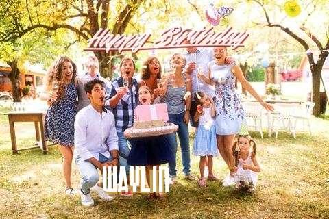 Happy Birthday Cake for Waylin