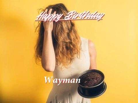 Wayman Birthday Celebration