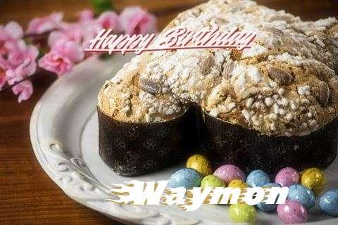 Happy Birthday Wishes for Waymon
