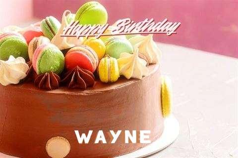 Happy Birthday Cake for Wayne