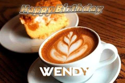 Happy Birthday Cake for Wendy