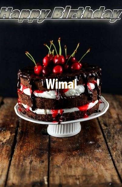 Happy Birthday Wimal