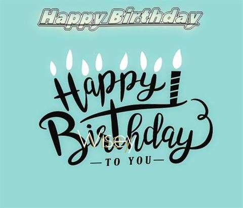 Happy Birthday Wisey