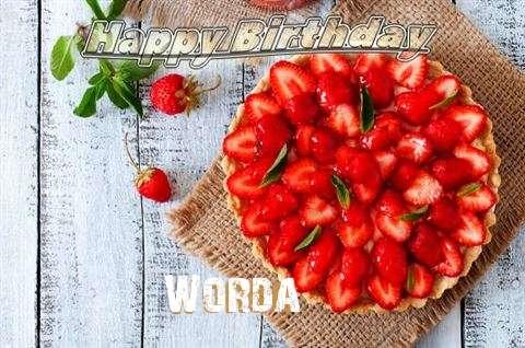 Happy Birthday to You Worda