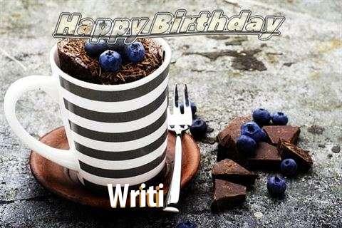 Happy Birthday Writi Cake Image
