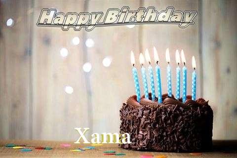 Happy Birthday Xama
