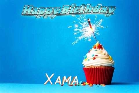 Happy Birthday to You Xama