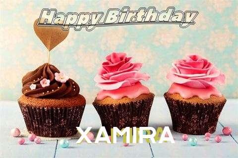 Happy Birthday Xamira Cake Image