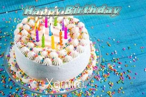 Happy Birthday Wishes for Xamira