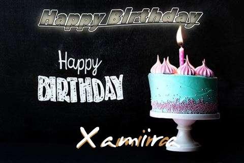 Happy Birthday Cake for Xamira