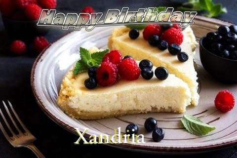 Happy Birthday Wishes for Xandria