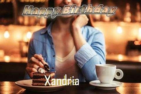 Happy Birthday Cake for Xandria