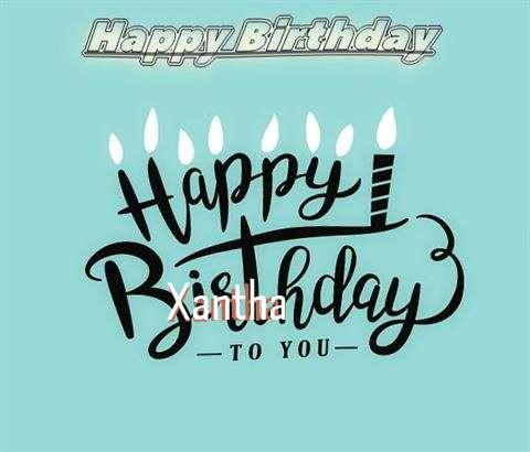 Happy Birthday Xantha