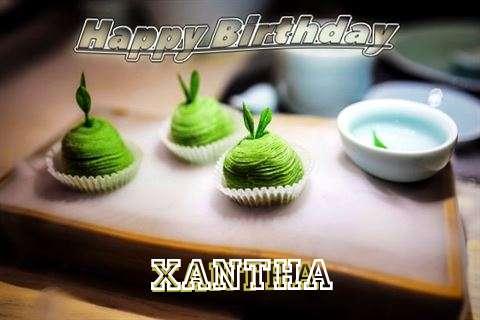 Happy Birthday Xantha Cake Image