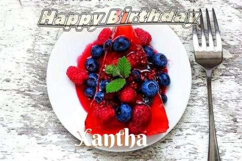 Happy Birthday Cake for Xantha
