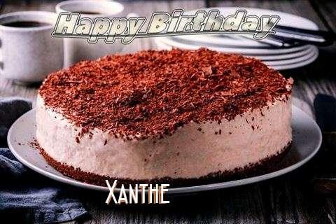 Happy Birthday Cake for Xanthe