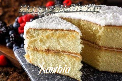 Birthday Images for Xanthia
