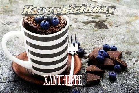 Happy Birthday Xanthippe Cake Image