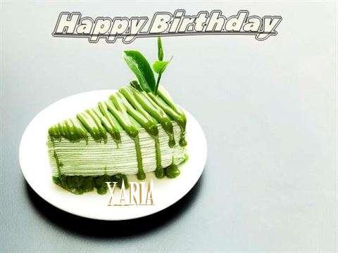 Happy Birthday Xaria