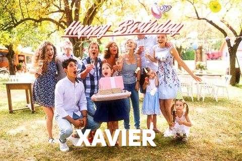 Happy Birthday Xavier